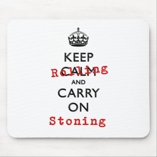 KEEP ROLLING MOUSE PAD