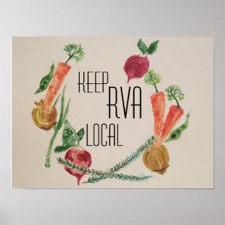 Keep RVA Local Poster
