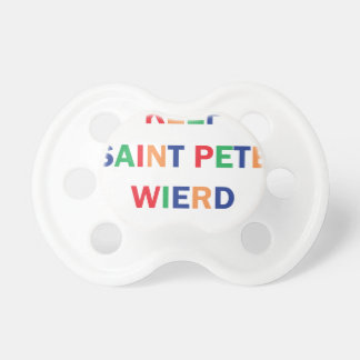 Keep Saint Pete Weird Design Dummy