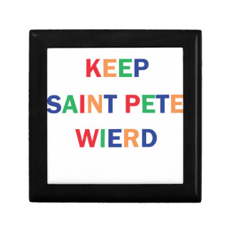 Keep Saint Pete Weird Design Gift Box