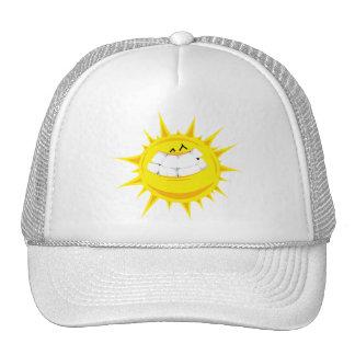 keep shining sun mesh hats