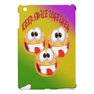 Keep Smile Together With fresh Gradient Case For The iPad Mini