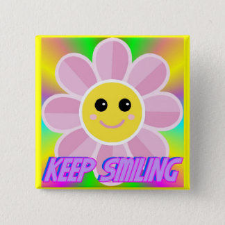 Keep Smiling Button