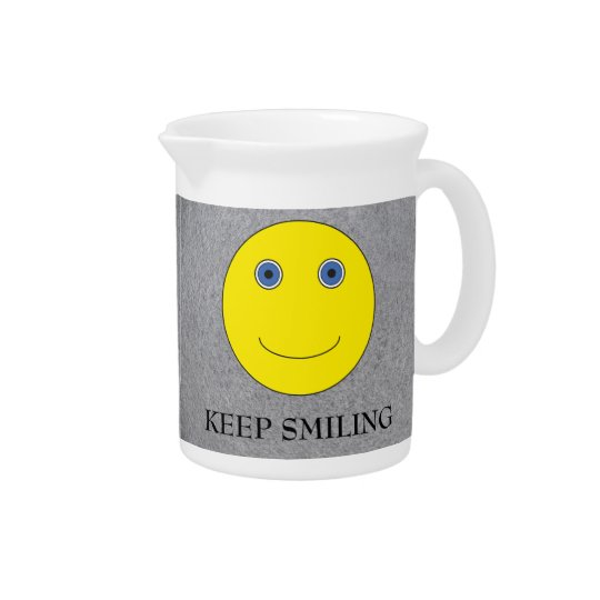 Keep Smiling Pitcher
