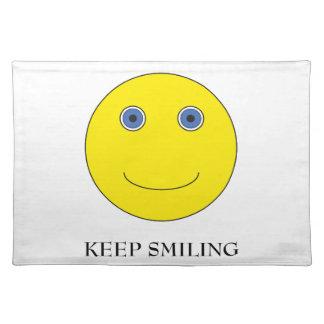 Keep Smiling Placemat