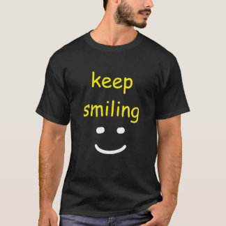 """Keep Smiling"" t-shirt"