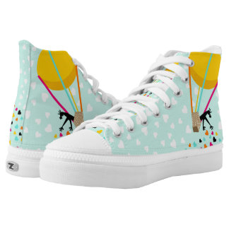 Keep spreading the love printed shoes