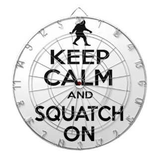 Keep Squatchin Dart Boards