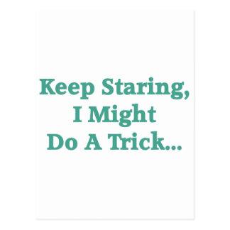 Keep Staring... Postcards