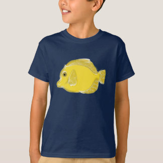 Keep Swimming T-Shirt with Yellow Fish