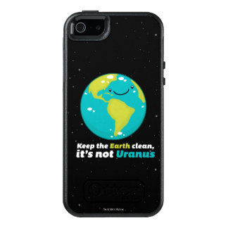 Keep The Earth Clean OtterBox iPhone 5/5s/SE Case
