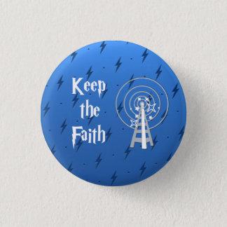 Keep the Faith 3 Cm Round Badge