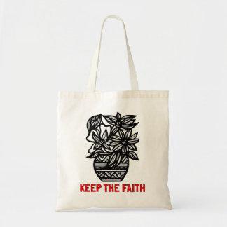 """Keep the Faith"" Classic Tote Bag"