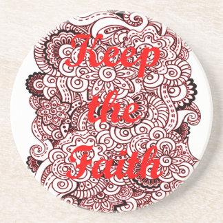 Keep the Faith Coaster