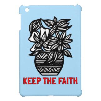 """""""Keep the Faith"""" iPad Mini Case"""