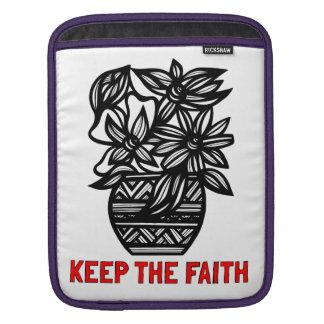 """""""Keep the Faith"""" Ipad Soft Case"""