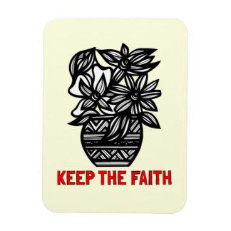 """""""Keep the Faith"""" Magnet"""