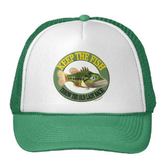 Keep The Fish Fishing T-shirts and Gifts Hat