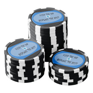 Keep the hip. Replace the rest. Poker Chips