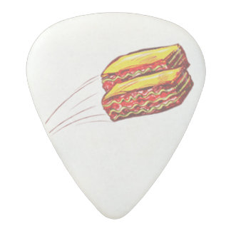 keep the Lasagna Flying guitar pick