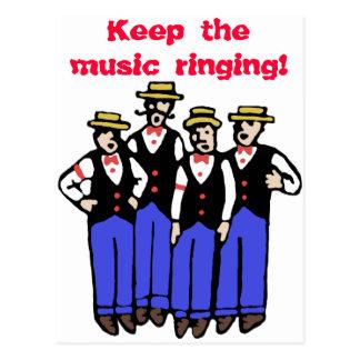Keep the Music Ringing! Postcard
