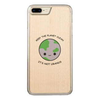 Keep the planet safe carved iPhone 8 plus/7 plus case