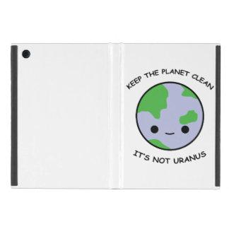 Keep the planet safe iPad mini case
