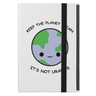 Keep the planet safe iPad mini cover