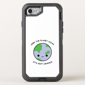 Keep the planet safe OtterBox defender iPhone 8/7 case