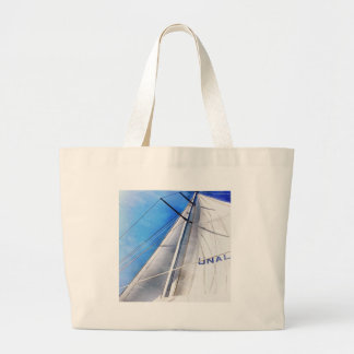 Keep The Wind In Your Sails Large Tote Bag