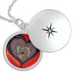 keep them close always... sickle cell art locket