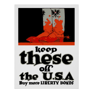 Keep These Off The USA -- WW1 Poster