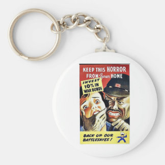 Keep This Horror From Your Home, Back Up Our Battl Keychains