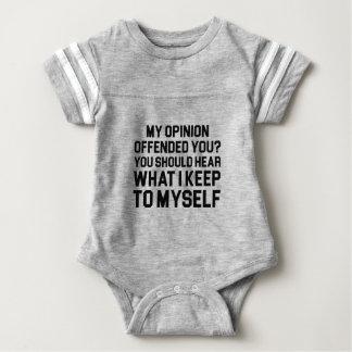 Keep to Myself Baby Bodysuit