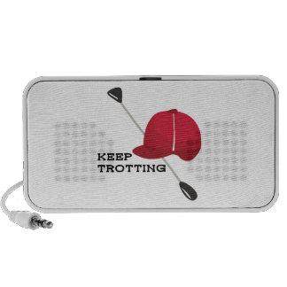 Keep Trotting Laptop Speaker
