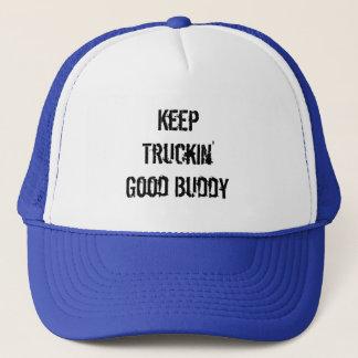 Keep Truckin' Good Buddy Trucker Hat