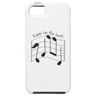 Keep Up the Beat Tough iPhone 5 Case