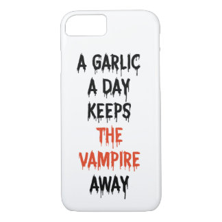 Keep vampire away iPhone 8/7 case
