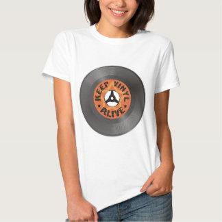 Keep Vinyl Alive Tshirt