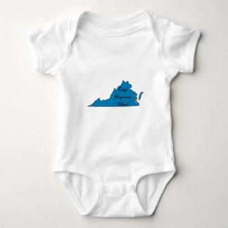Keep Virginia Blue! Baby Bodysuit