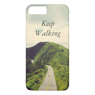 Keep Walking Inspirational and Motivational Quote iPhone 7 Plus Case