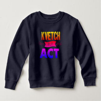 Keep warm while you kvetch in this sweatshirt