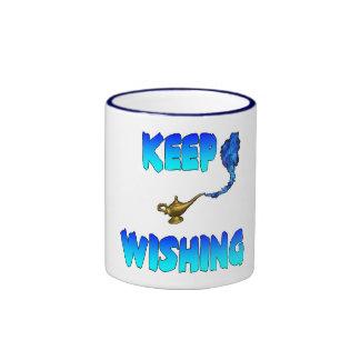 Keep Wishing Mug