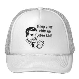 Keep Your Chin Up Emo Kid! Trucker Hat