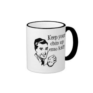Keep Your Chin Up Emo Kid! Coffee Mug