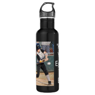 keep your eye on the ball batter bottle 710 ml water bottle