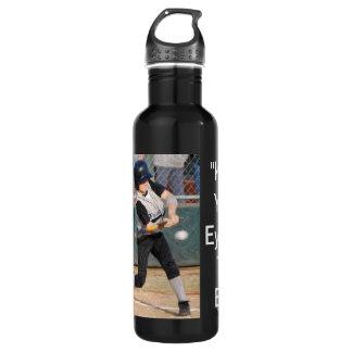 keep your eye on the ball batter bottle 710 ml water bottle