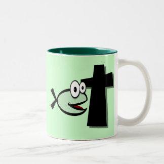 Keep Your Eyes on the Cross Mug