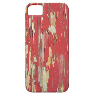 Keep your eyes peeled, peeling paint in red. iPhone 5 cases