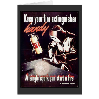 Keep Your Fire Extinguisher Handy Card